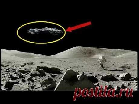 Сенсационные публикации о находке космического корабля на Луне. Так ли ЭТО! - YouTube
