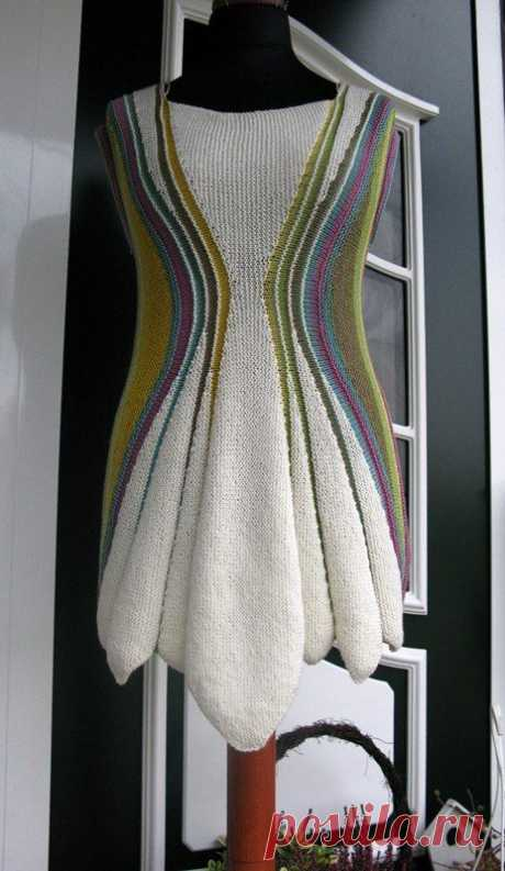 Sanduhr v Heidrun Liegmann This is great creativity!LT: #crochettunicpattern - pioneerwoman