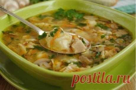 Суп с гречкой и картофельными клецками - Простые рецепты Овкусе.ру