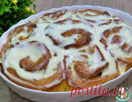 Вкуснейшие синнабоны с яблоками и корицей – кулинарный рецепт