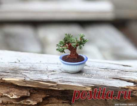 Вязанная миниатюра от FancyKnittle / Игрушки / Бэйбики. Куклы фото. Одежда для кукол
