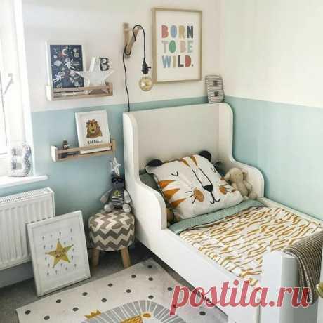 Зоны сна в детской. Очень атмосферно смотрятся! Какая кровать больше нравится?