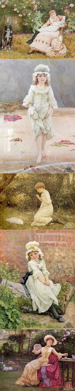 Английский художник Edward Killingworth Johnson (1825 - 1896) » ALLDAY - народный сайт о дизайне