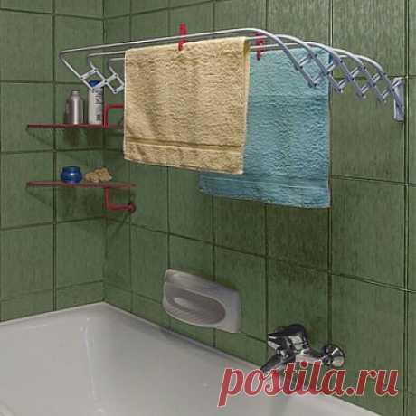 El secador para la ropa blanca en el cuarto de baño. ¿Que secador escoger?