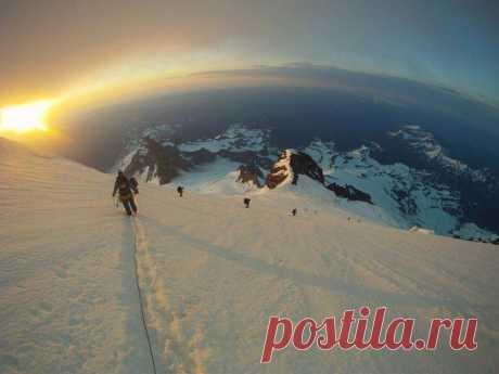 Вид с высоты 8 тысяч метров