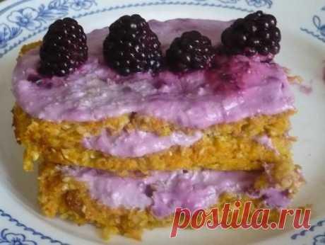 """Пирожное """"Фитнес"""" рецепт с фото - 1000.menu"""