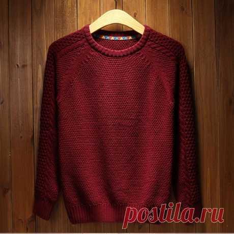 Как связать свитер спицами начинающему - схемы, фото примеры, советы