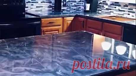 Эпоксидная смола на кухонных столах