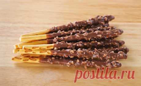 Соломка в шоколаде с орехами - Вкусно с Любовью - медиаплатформа МирТесен