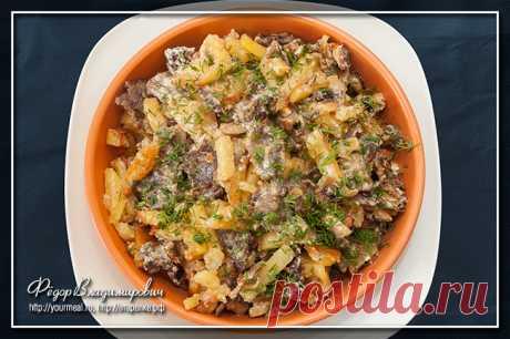 Скоблянка — старинное блюдо русской кухни!