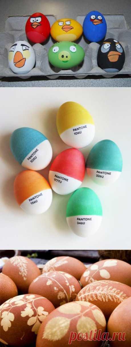 30 идей для пасхальных яиц - Дизайн