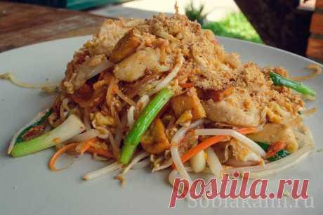 Пад Тай (Pad Thai): простой пошаговый рецепт тайской лапши