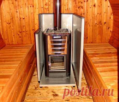 Универсальная печь для бани и отопления дома: плюсы и минусы