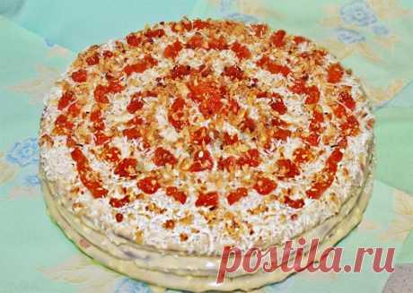Торт Бедный еврей рецепт с фото пошагово - 1000.menu
