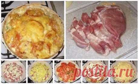 Как приготовить тушеное мясо под сыром - рецепт, ингридиенты и фотографии