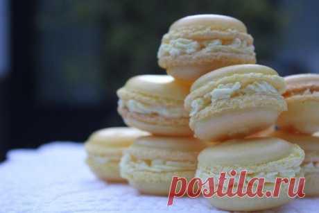 Как приготовить лимонные macarons - рецепт, ингридиенты и фотографии
