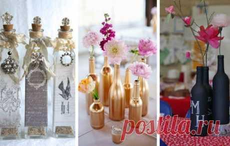 Что делать со стеклянными бутылками после праздников