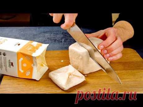 Нарезаем ряженку ножом! Проще Шарлотки, вкуснее Наполеона: сразу 3 рецепта без возни с тестом!