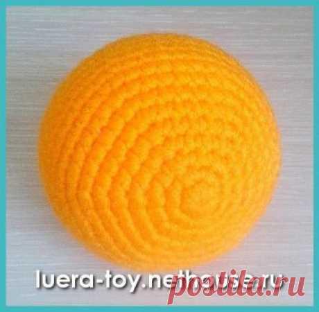 «Luera TOY» Вязаные игрушки Любови Ерлыгаевой - Статьи - Как вязать круг и шарик крючком