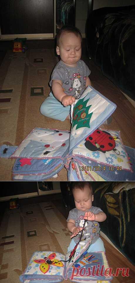 (+1) тема - Детская развивающая книжка для малышей.   СВОИМИ РУКАМИ