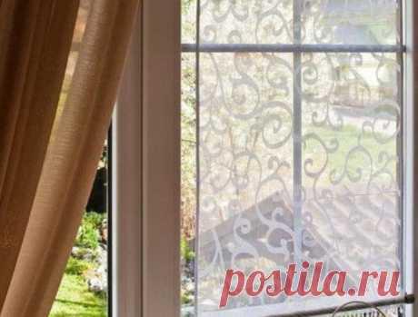 Шьем занавески для пластиковых окон… Очень нежно, креативно и весьма необычно!