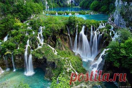 9 самых красивых водопадов | Интересные Факты