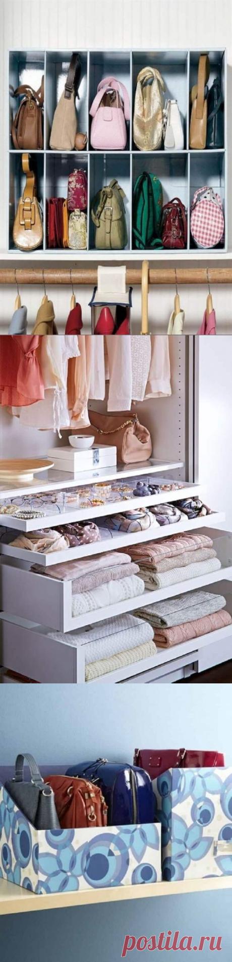 22 офигенных примера, как складывать вещи в шкафу | Тысяча и одна идея