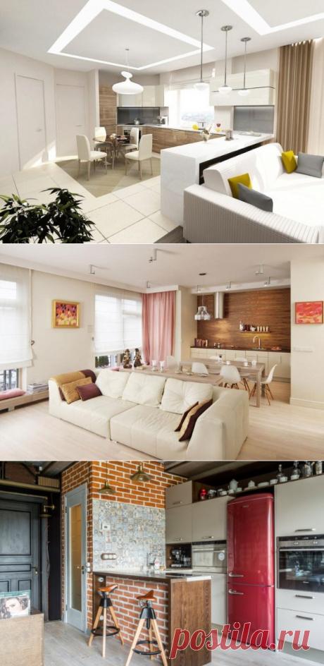 Современный дизайн кухни студии на 70 красивых фото — Дом и Сад
