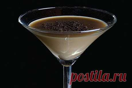Instant tasty chocolate liqueur | Bank of culinary recipes