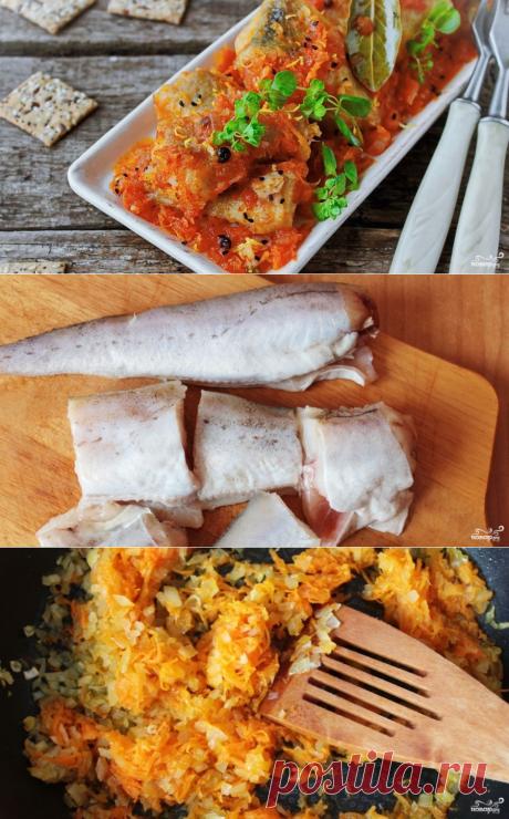 Тушеный минтай в мультиварке - пошаговый кулинарный рецепт с фото на Повар.ру