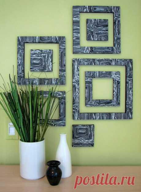 Идеи оформления стен в гостиной на любой вкус / Домоседы