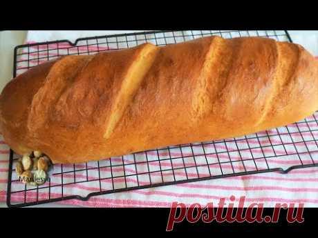 БАТОН МОЛОЧНЫЙ, вкуснее, чем из магазина!Как формовать батон/Milk Bread