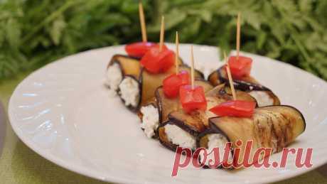 Баклажаны с творогом, да и ещё с остринкой - удивительная закуска | Найди Свой Рецепт | Яндекс Дзен