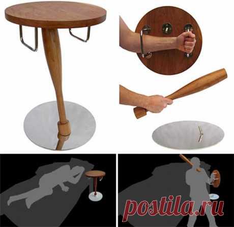 Боевой столик. Идеально для оснащения фанатских баров…