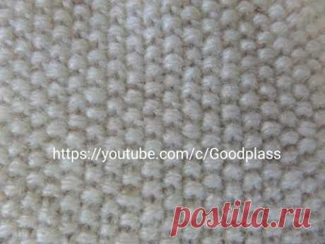 Узор жемчужный,Рис для реглана снизу.Вязание спицами. Knitting(Hobby). - YouTube