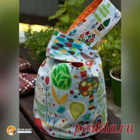 """Удобная сумка. Называется """"Японский узелок"""""""