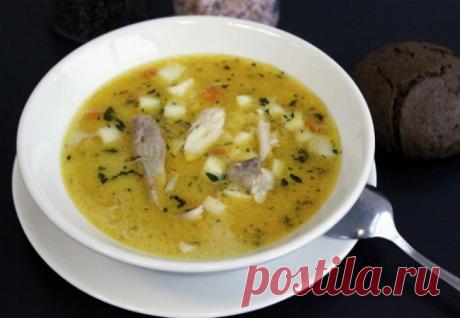 Куриный суп из Болгарии: со сметаной съедают по 2 тарелки