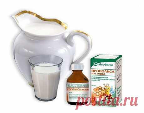 Прополис с молоком - природное средство от многих заболеваний