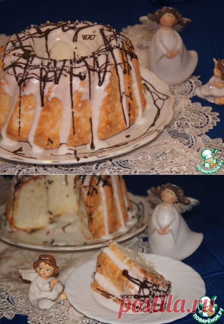 """Бисквит """"Ангельский"""" – кулинарный рецепт"""