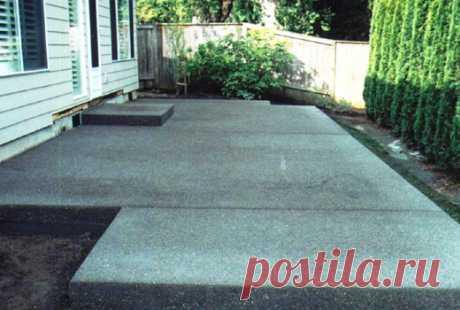 Как покрасить бетонную площадку под камень – руководство, фото - каталог статей на сайте - ДомСтрой