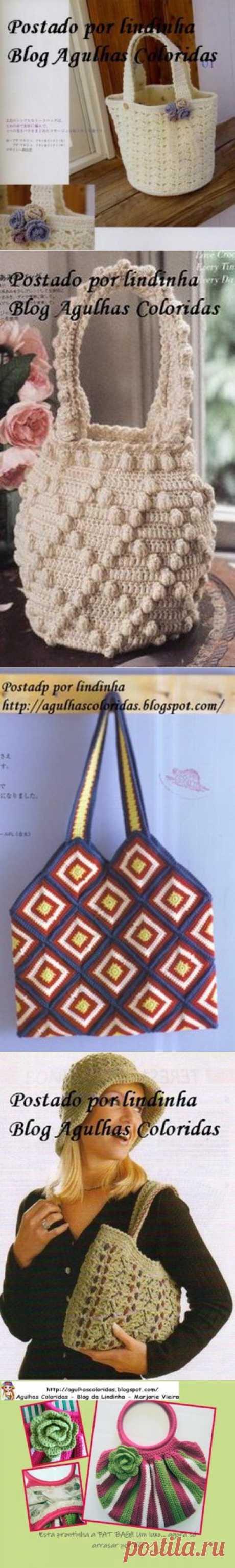 Очень красивые сумки .