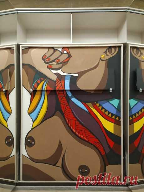 Роспись стен - фото креативных решений