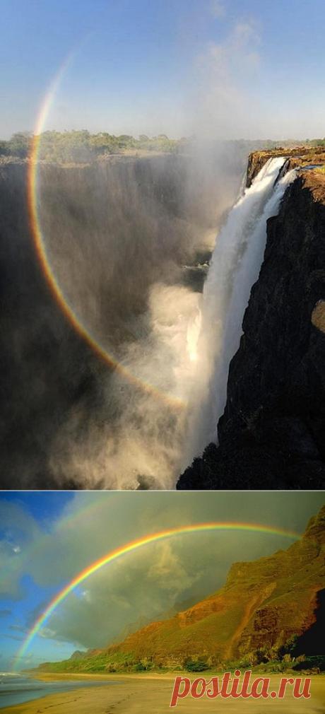 13 удивительных фактов о радуге