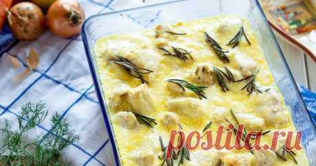 Готовим рыбу в сметане в духовке: простейший рецепт для тех, кто не любит долго стоять у плиты