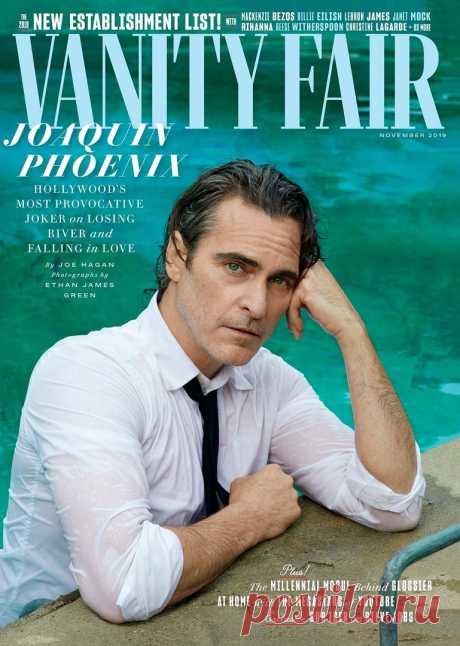 Хоакин Феникс на обложке Vanity Fair, 2019