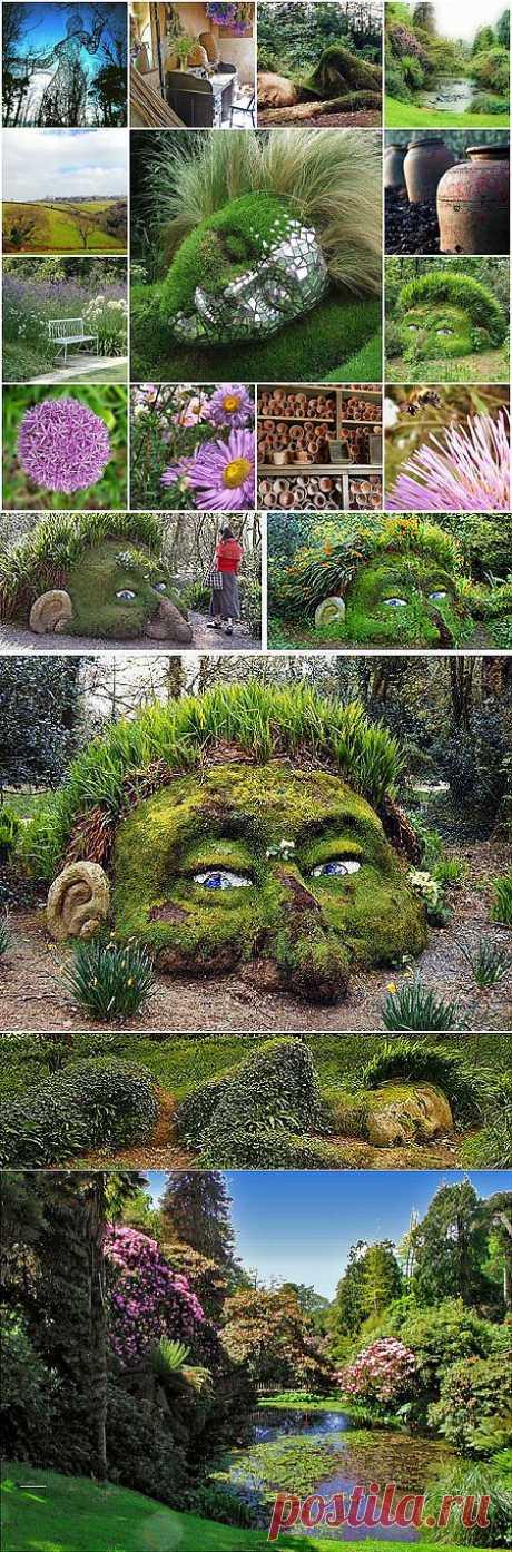 Зеленые скульптуры в Затерянных садах Хелигана