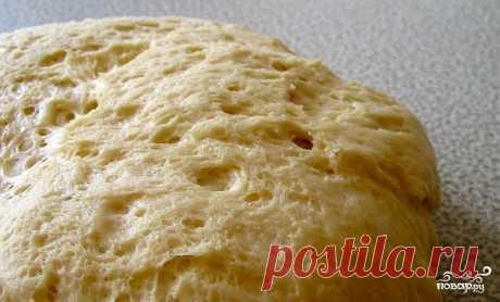 Дрожжевое тесто в микроволновке - кулинарный рецепт на Повар.ру