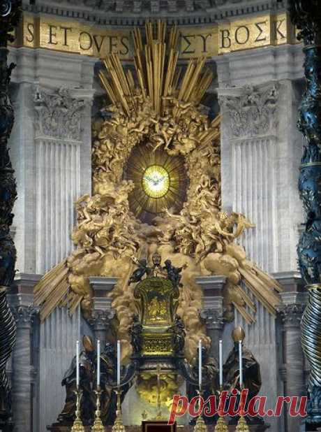 Vatican City ~ Basilica of St Peter's,  \u000d\u000aflickr from army.arch | Pinterest • The world catalog of ideas