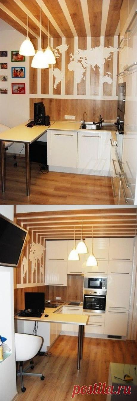 Маленькая квартира-студия в примерно 32 кв.м. - Дизайн интерьеров | Идеи вашего дома | Lodgers