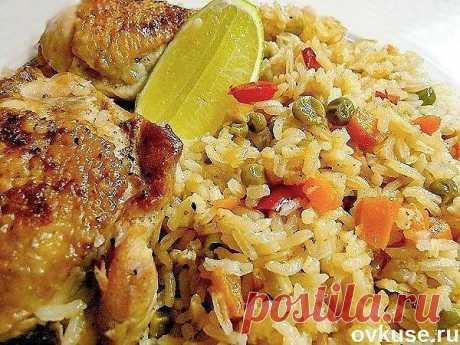 Рис с курицей - Простые рецепты Овкусе.ру